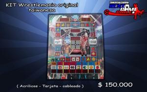 kit wrestlemania original taiwanesa/precio: $ 150.000 pesos