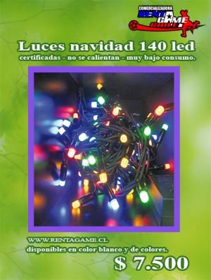 Luces navidad 140 led blanca o de colores 7500 - Luces led de colores ...