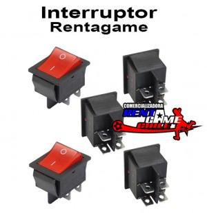 interruptor  rentagame /15 amp/ventas x mayor y detalle