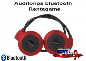 audifonos bluetooth stereo rentagame/envios a todo chile