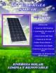 Kit energía solar rentagame  -700 watt/día